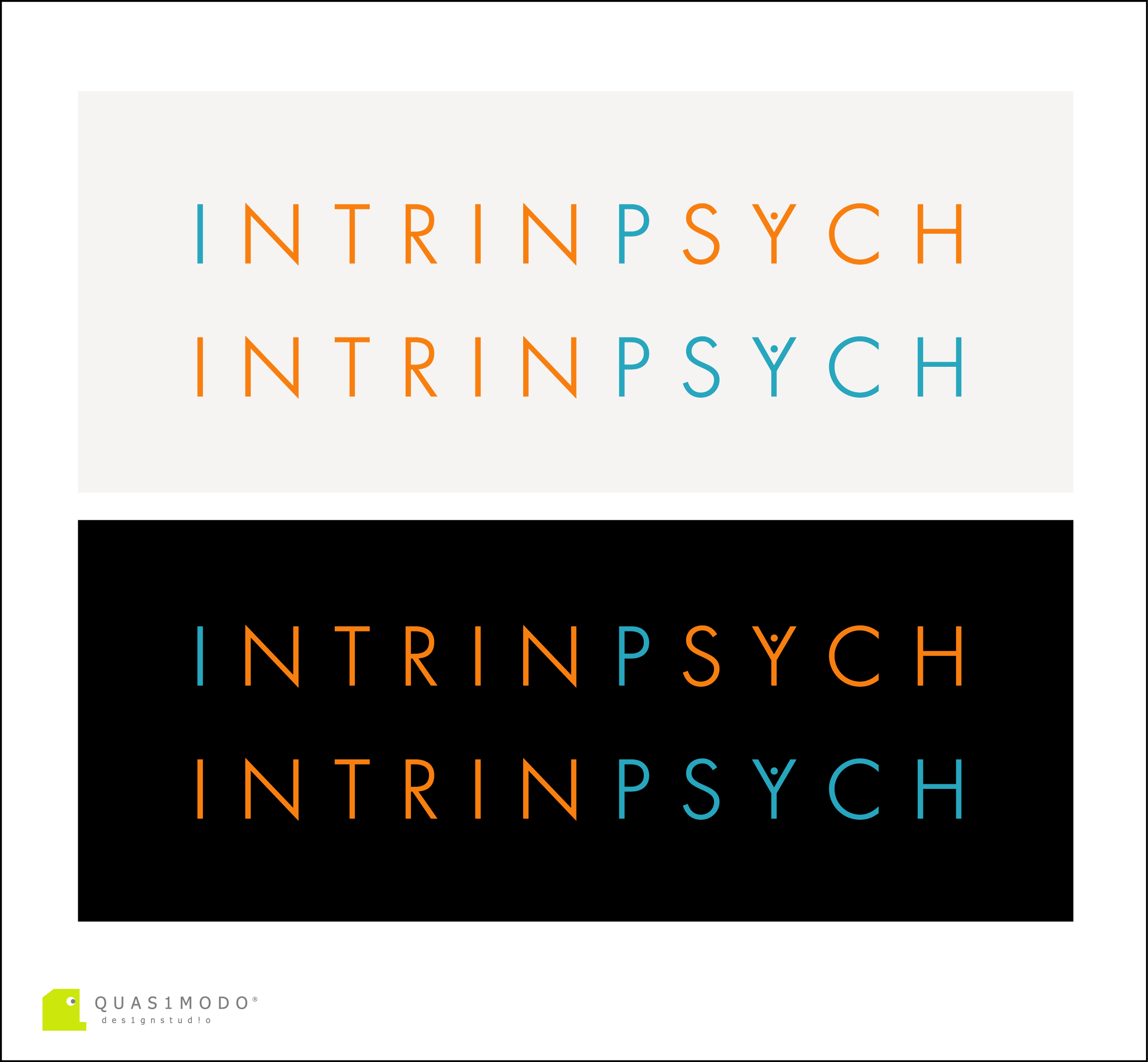Logo Design by DIMITRIOS PAPADOPOULOS - Entry No. 210 in the Logo Design Contest New Logo Design for IntrinPsych.