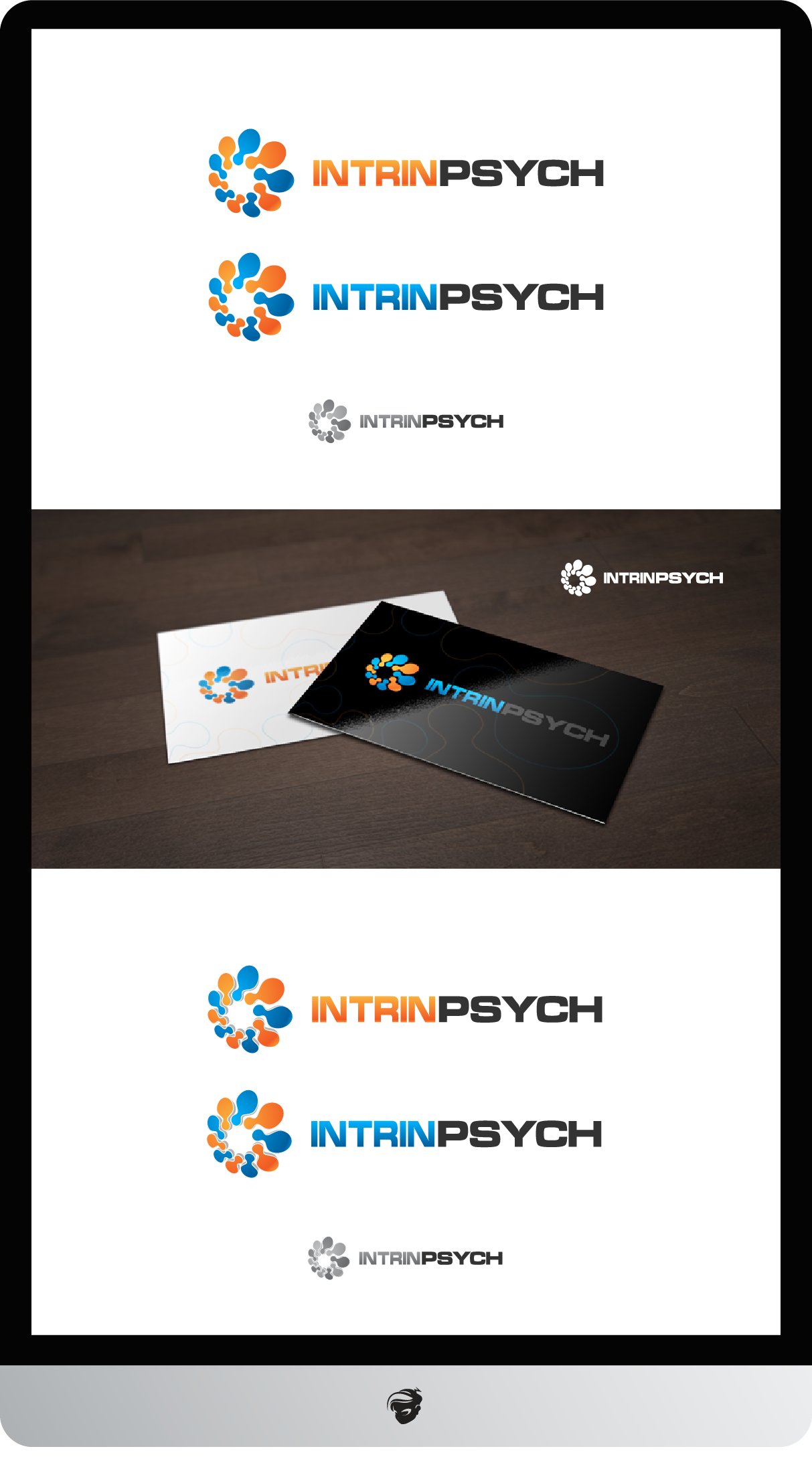 Logo Design by zesthar - Entry No. 212 in the Logo Design Contest New Logo Design for IntrinPsych.