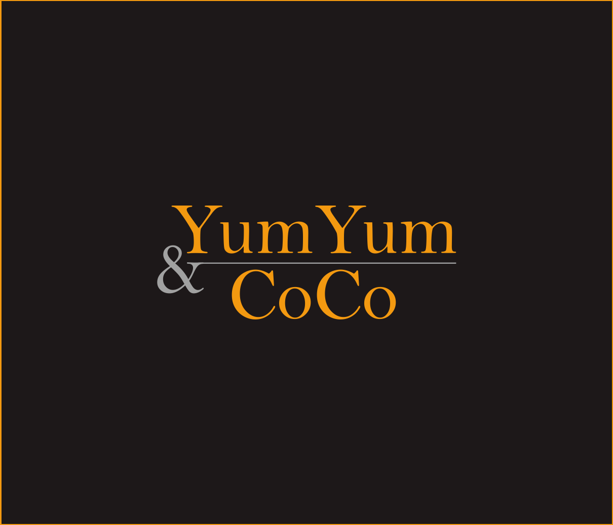 Logo Design by Armada Jamaluddin - Entry No. 279 in the Logo Design Contest Logo Design for YumYum & CoCo.