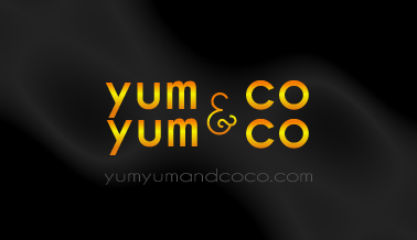 Logo Design by Boba Dizajn - Entry No. 282 in the Logo Design Contest Logo Design for YumYum & CoCo.