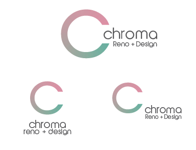 Logo Design by Gretchen Romin - Entry No. 81 in the Logo Design Contest Inspiring Logo Design for Chroma Reno+Design.