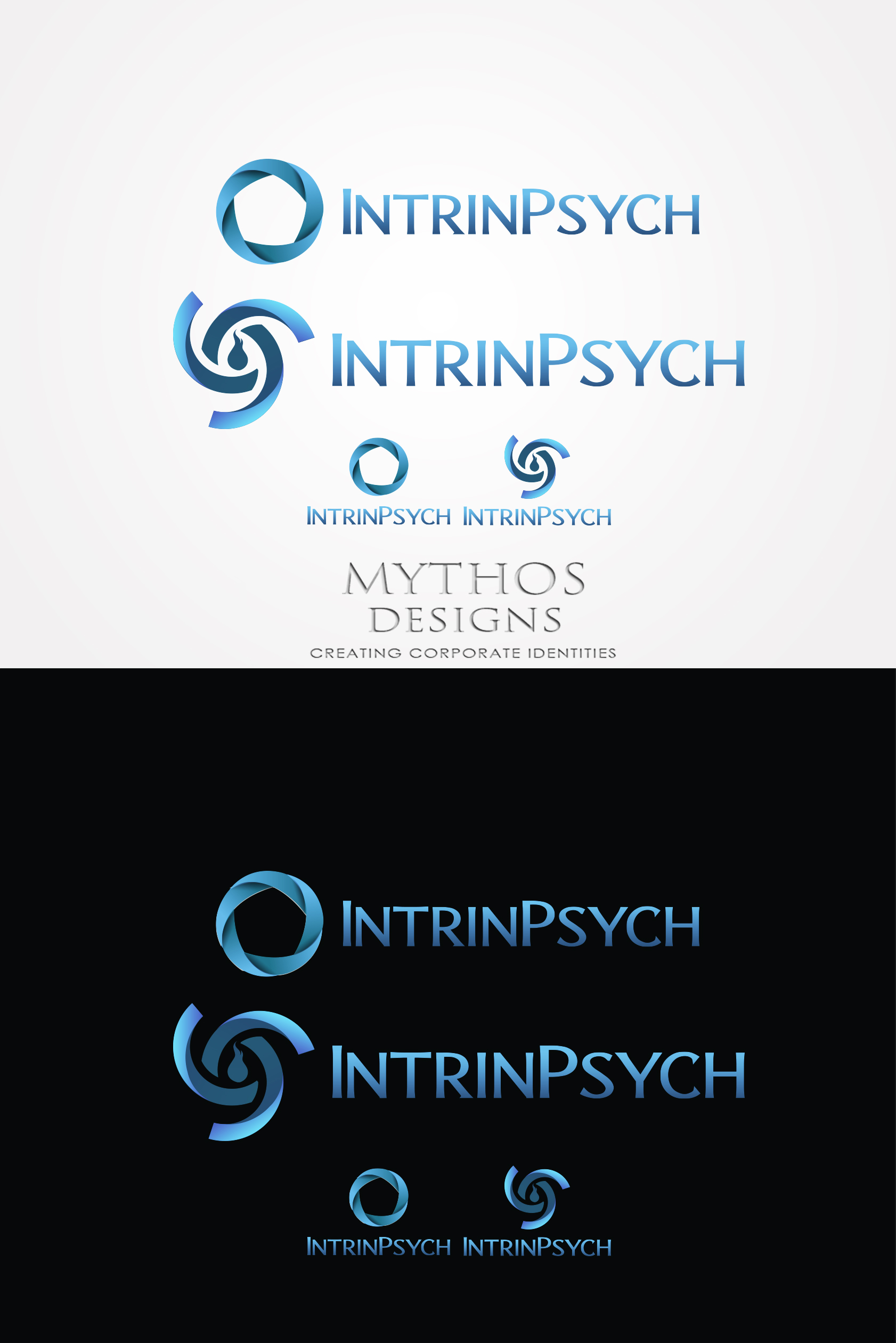 Logo Design by Mythos Designs - Entry No. 217 in the Logo Design Contest New Logo Design for IntrinPsych.