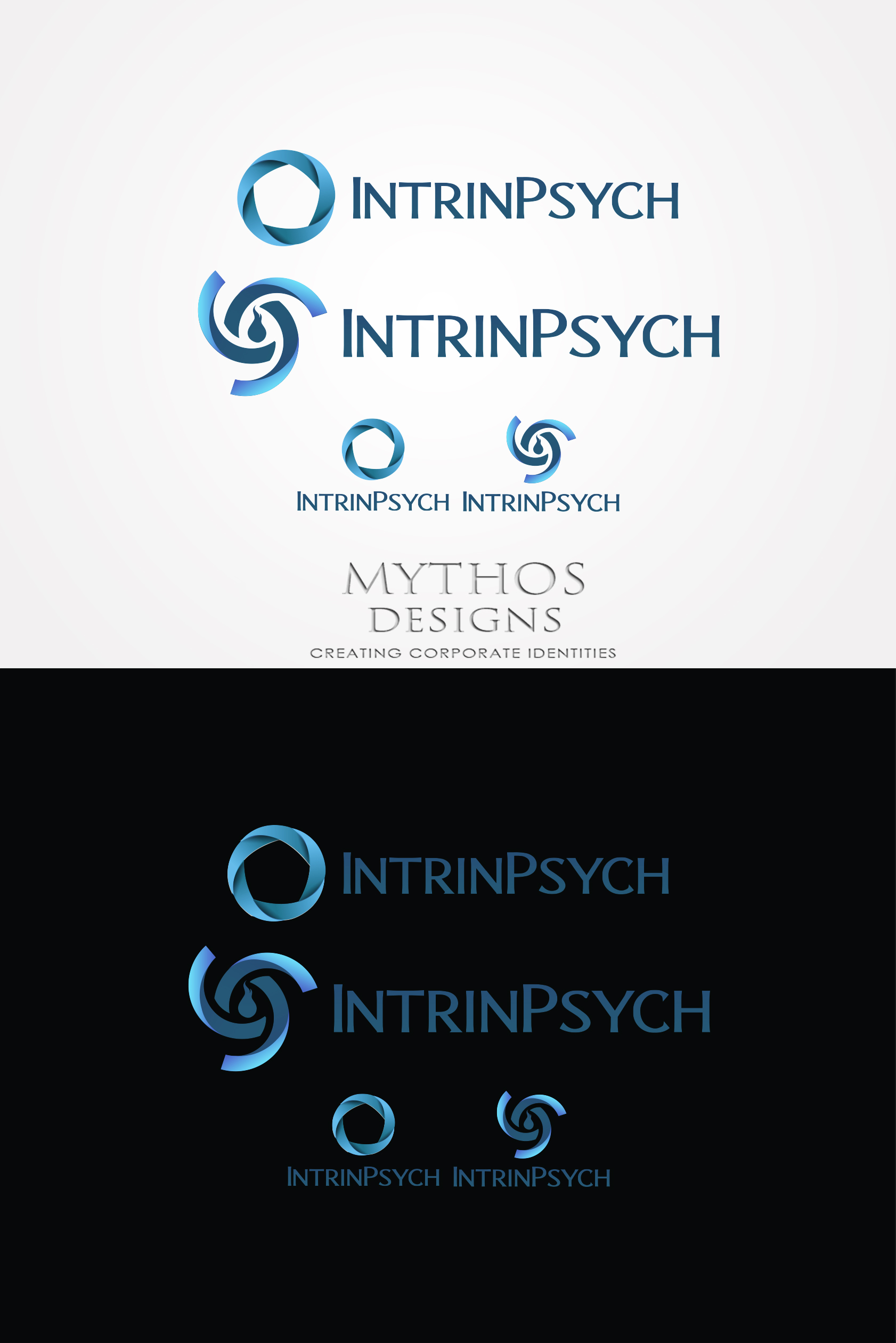 Logo Design by Mythos Designs - Entry No. 218 in the Logo Design Contest New Logo Design for IntrinPsych.