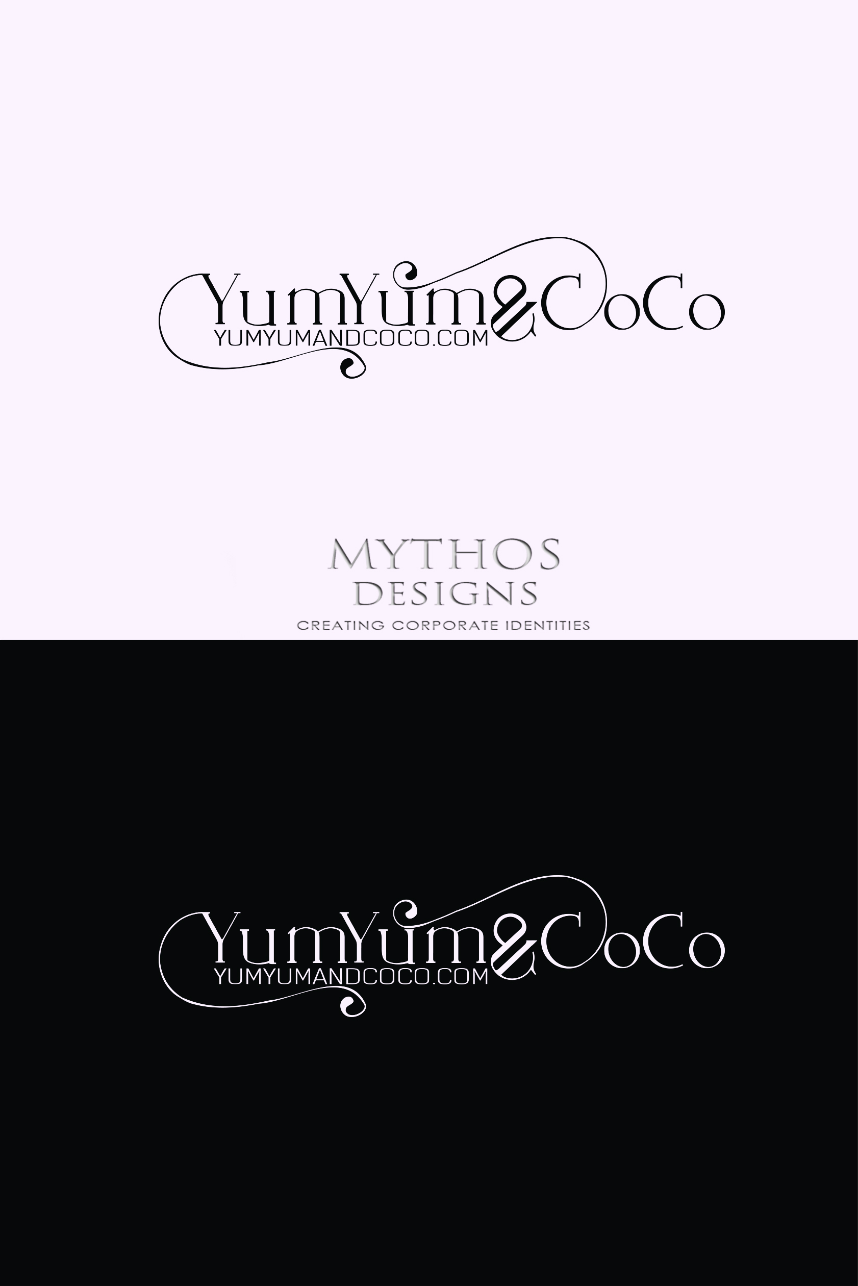 Logo Design by Mythos Designs - Entry No. 284 in the Logo Design Contest Logo Design for YumYum & CoCo.