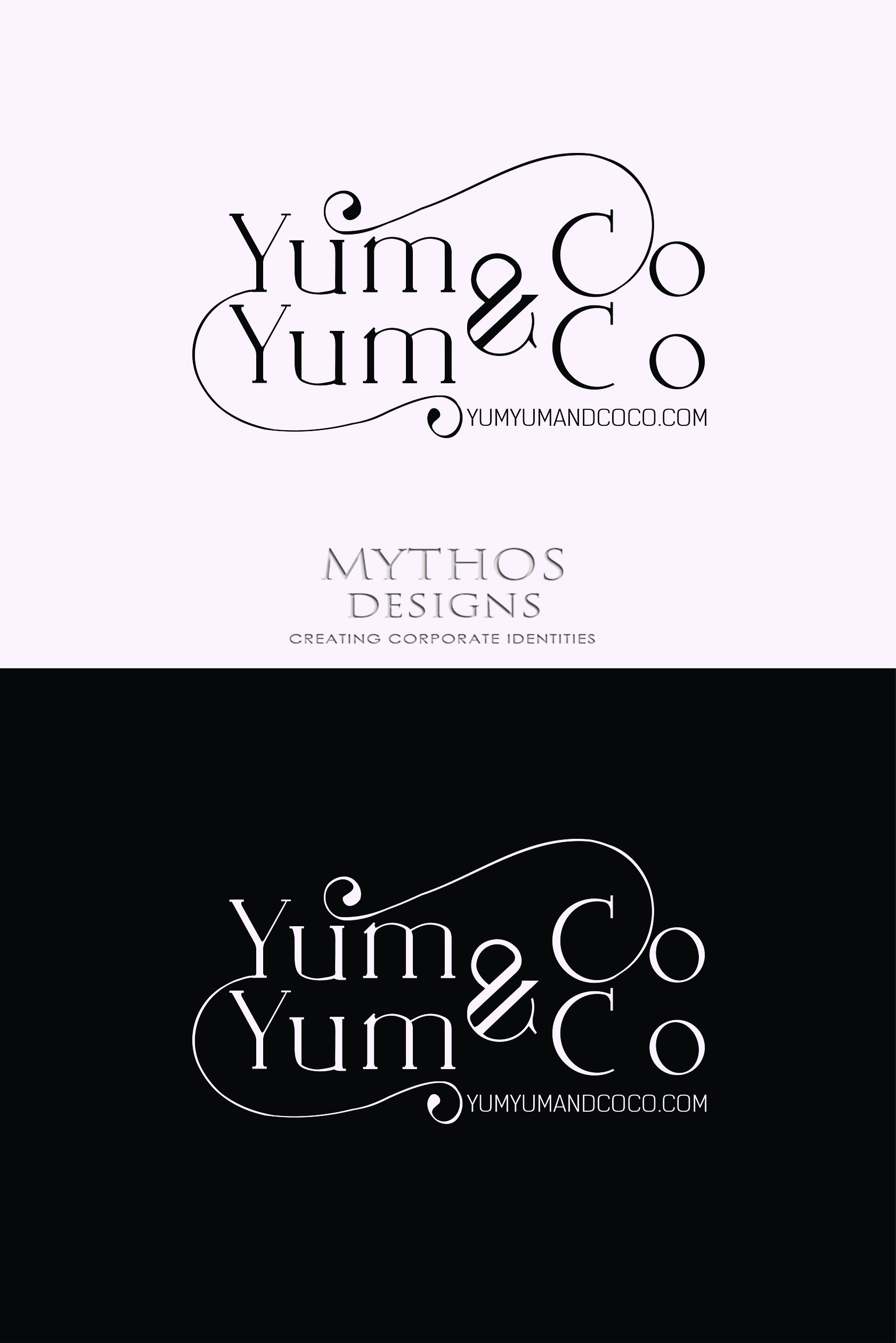 Logo Design by Mythos Designs - Entry No. 285 in the Logo Design Contest Logo Design for YumYum & CoCo.