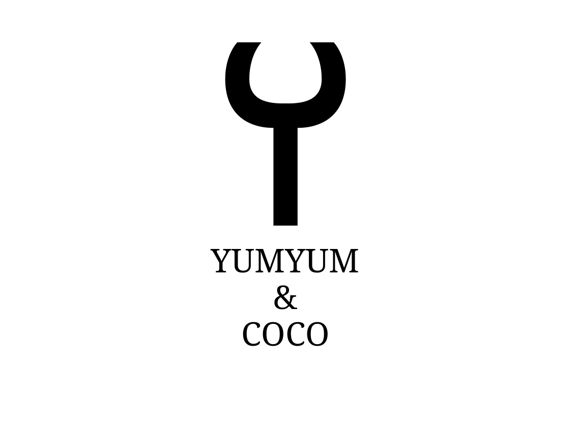 Logo Design by JaroslavProcka - Entry No. 295 in the Logo Design Contest Logo Design for YumYum & CoCo.