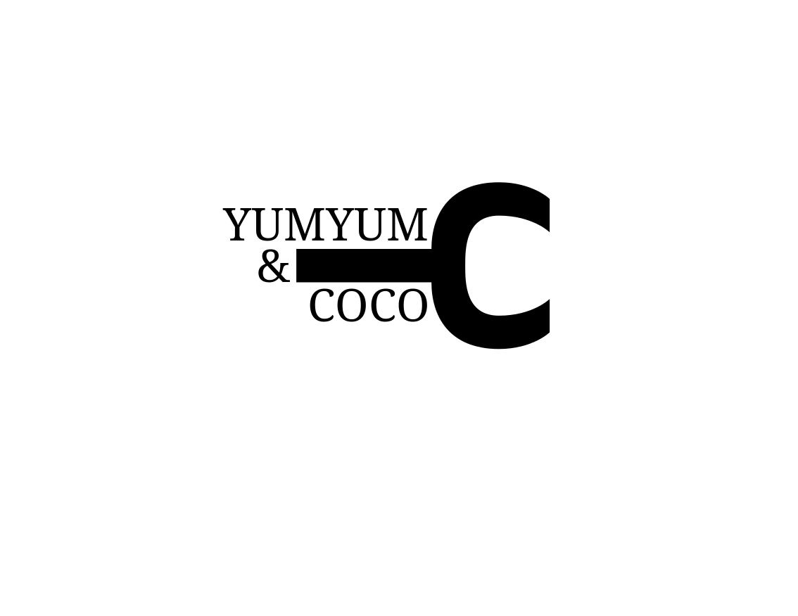Logo Design by JaroslavProcka - Entry No. 296 in the Logo Design Contest Logo Design for YumYum & CoCo.