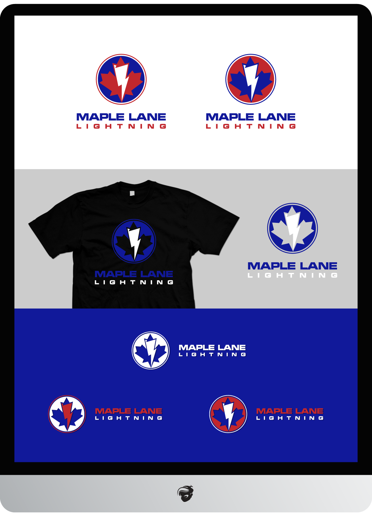 Logo Design by zesthar - Entry No. 182 in the Logo Design Contest Maple Lane Logo Design.