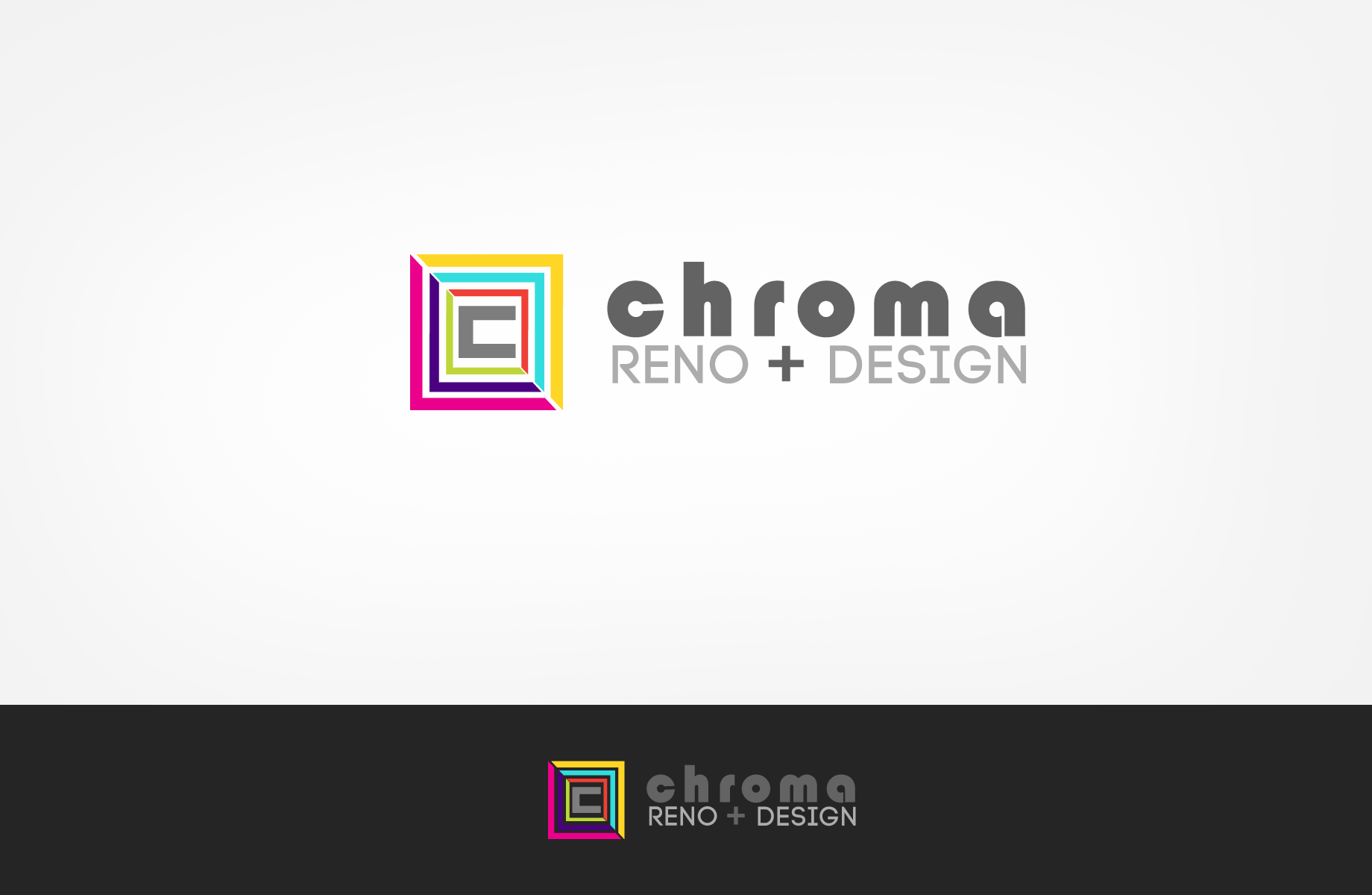 Logo Design by Jan Chua - Entry No. 83 in the Logo Design Contest Inspiring Logo Design for Chroma Reno+Design.