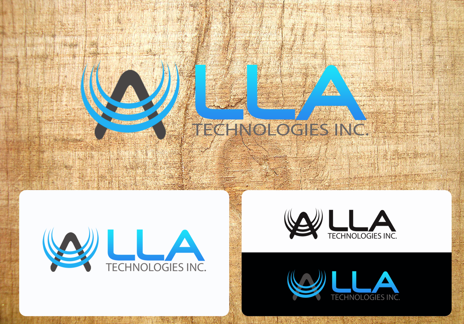 Logo Design by Inday - Entry No. 31 in the Logo Design Contest Inspiring Logo Design for LLA Technologies Inc..