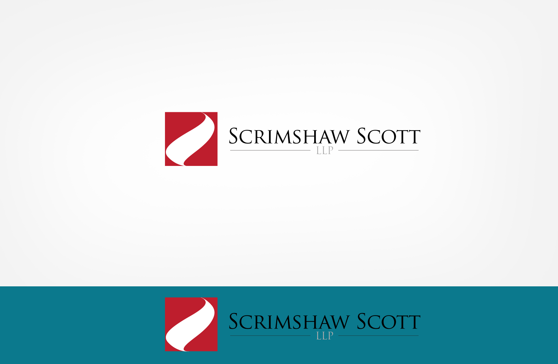 Logo Design by Jan Chua - Entry No. 79 in the Logo Design Contest Creative Logo Design for Scrimshaw Scott LLP.