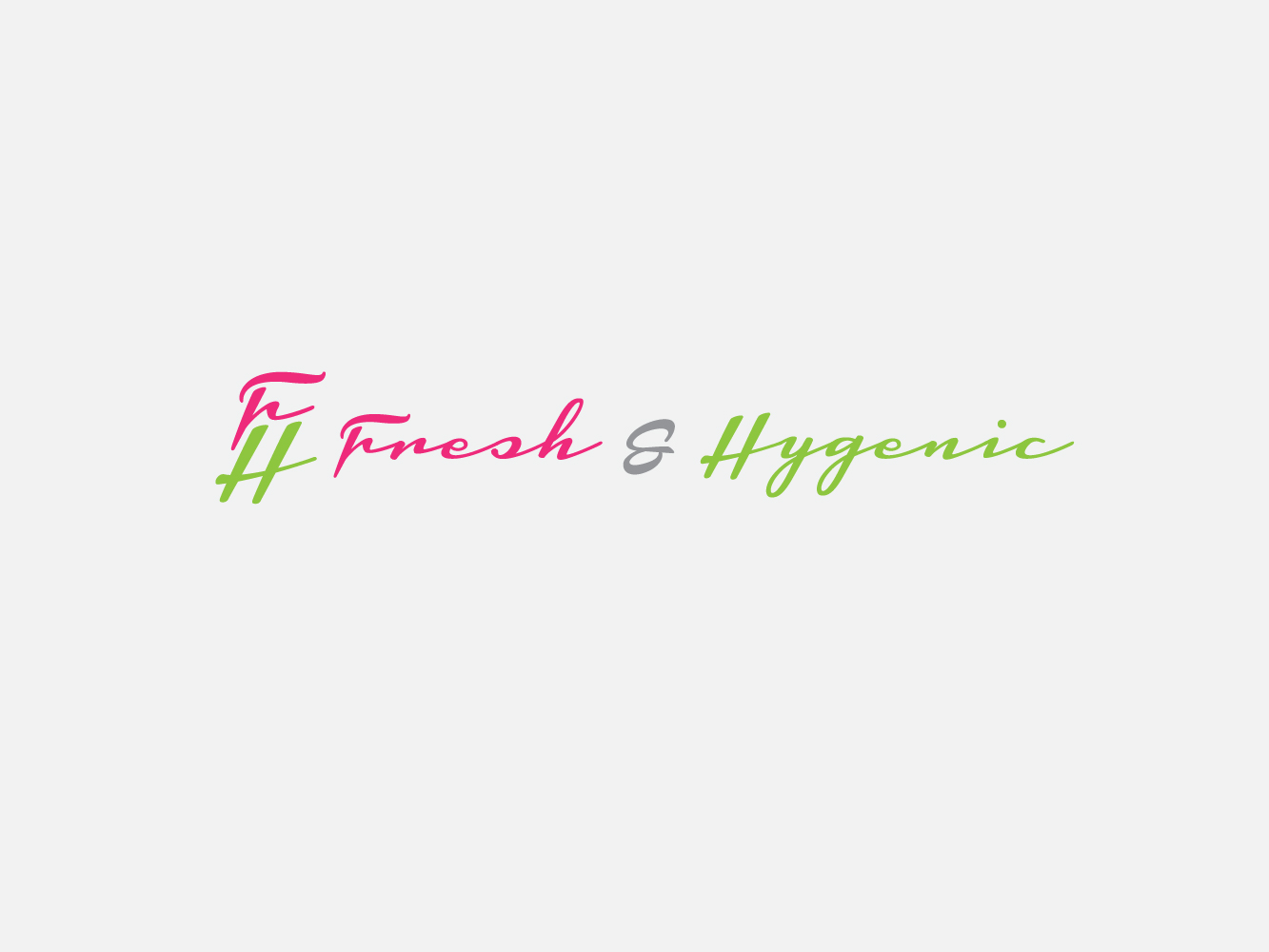 Logo Design by Jerameel Cabautan - Entry No. 2 in the Logo Design Contest Fun Logo Design for Fresh & Hygenic.