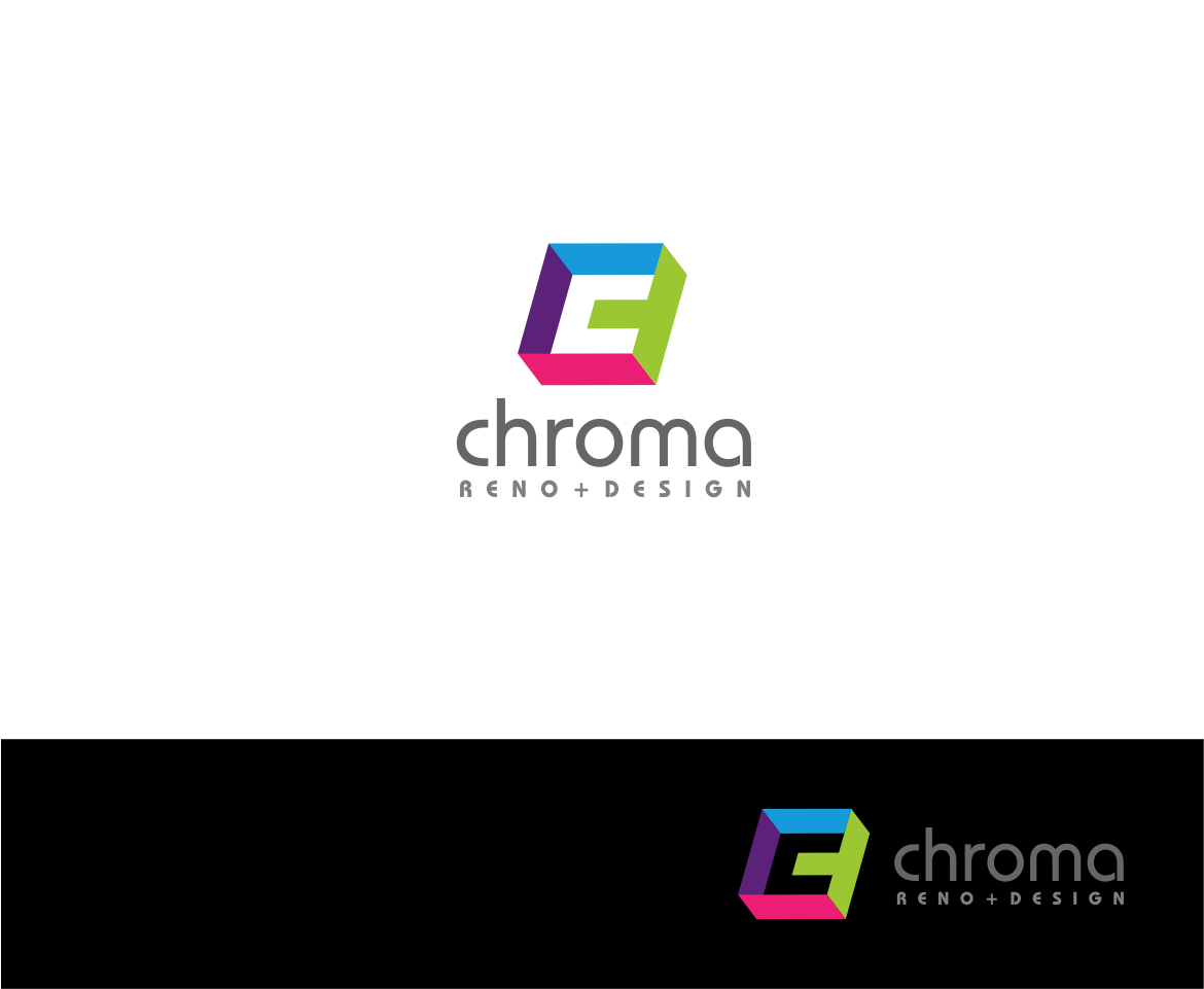 Logo Design by haidu - Entry No. 93 in the Logo Design Contest Inspiring Logo Design for Chroma Reno+Design.