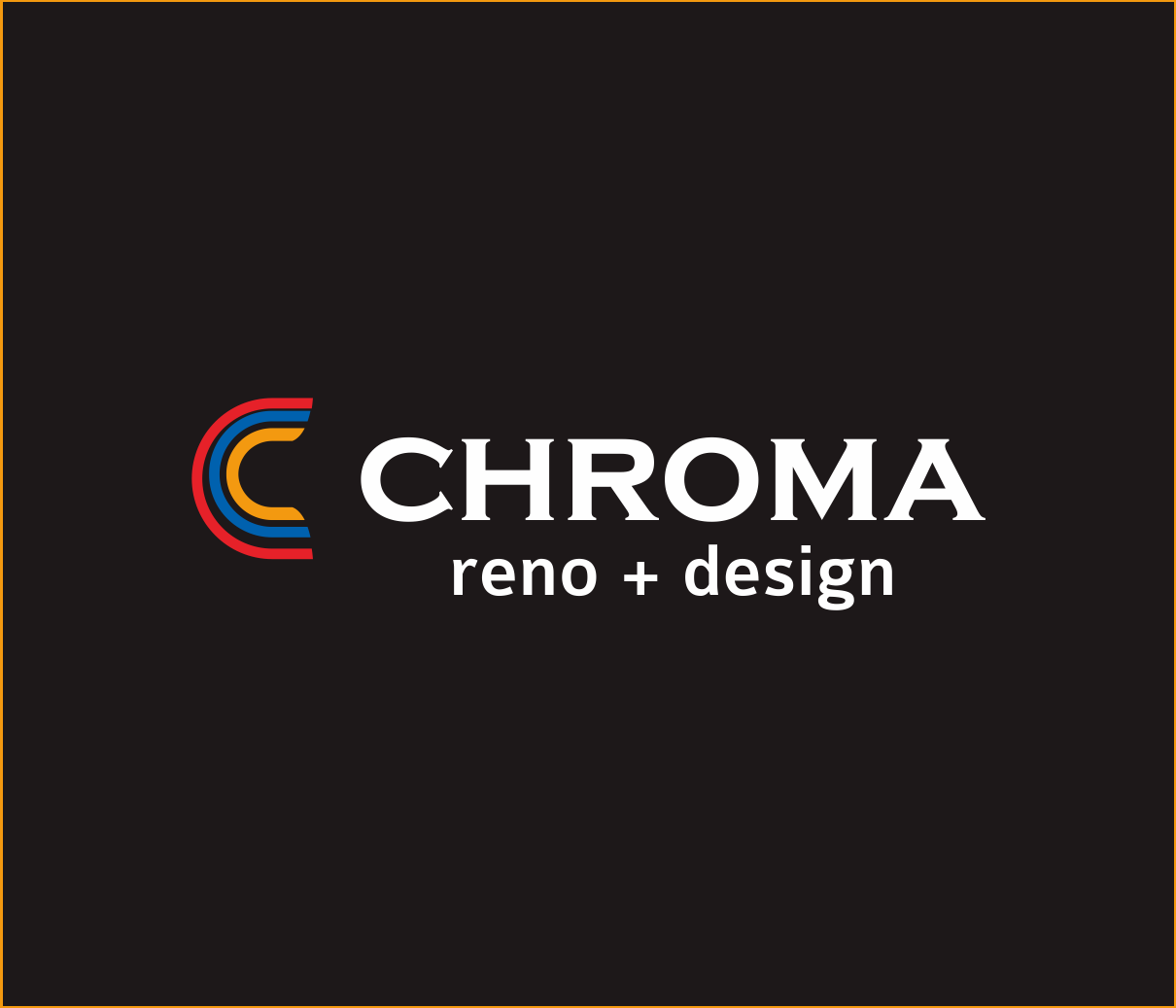 Logo Design by Armada Jamaluddin - Entry No. 95 in the Logo Design Contest Inspiring Logo Design for Chroma Reno+Design.