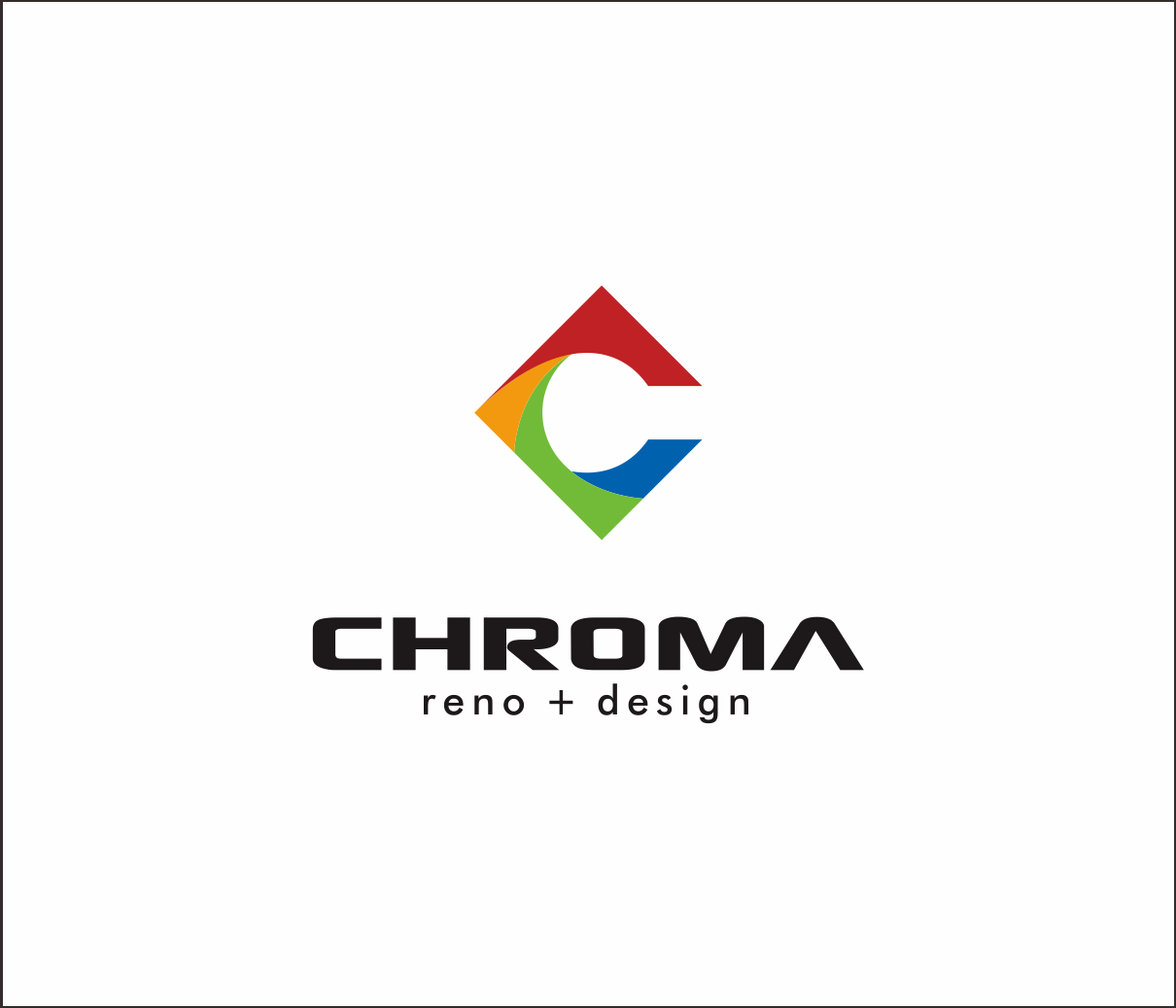 Logo Design by Armada Jamaluddin - Entry No. 97 in the Logo Design Contest Inspiring Logo Design for Chroma Reno+Design.