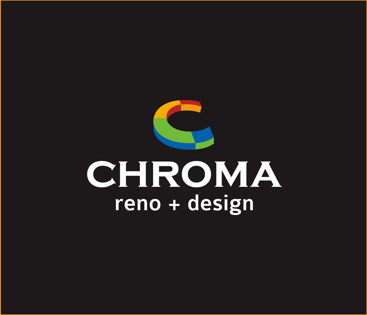 Logo Design by Armada Jamaluddin - Entry No. 98 in the Logo Design Contest Inspiring Logo Design for Chroma Reno+Design.