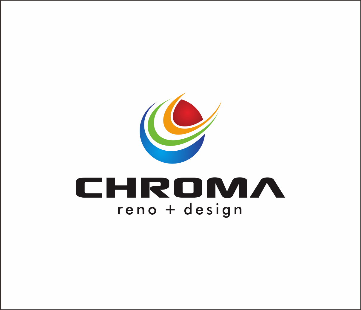 Logo Design by Armada Jamaluddin - Entry No. 99 in the Logo Design Contest Inspiring Logo Design for Chroma Reno+Design.