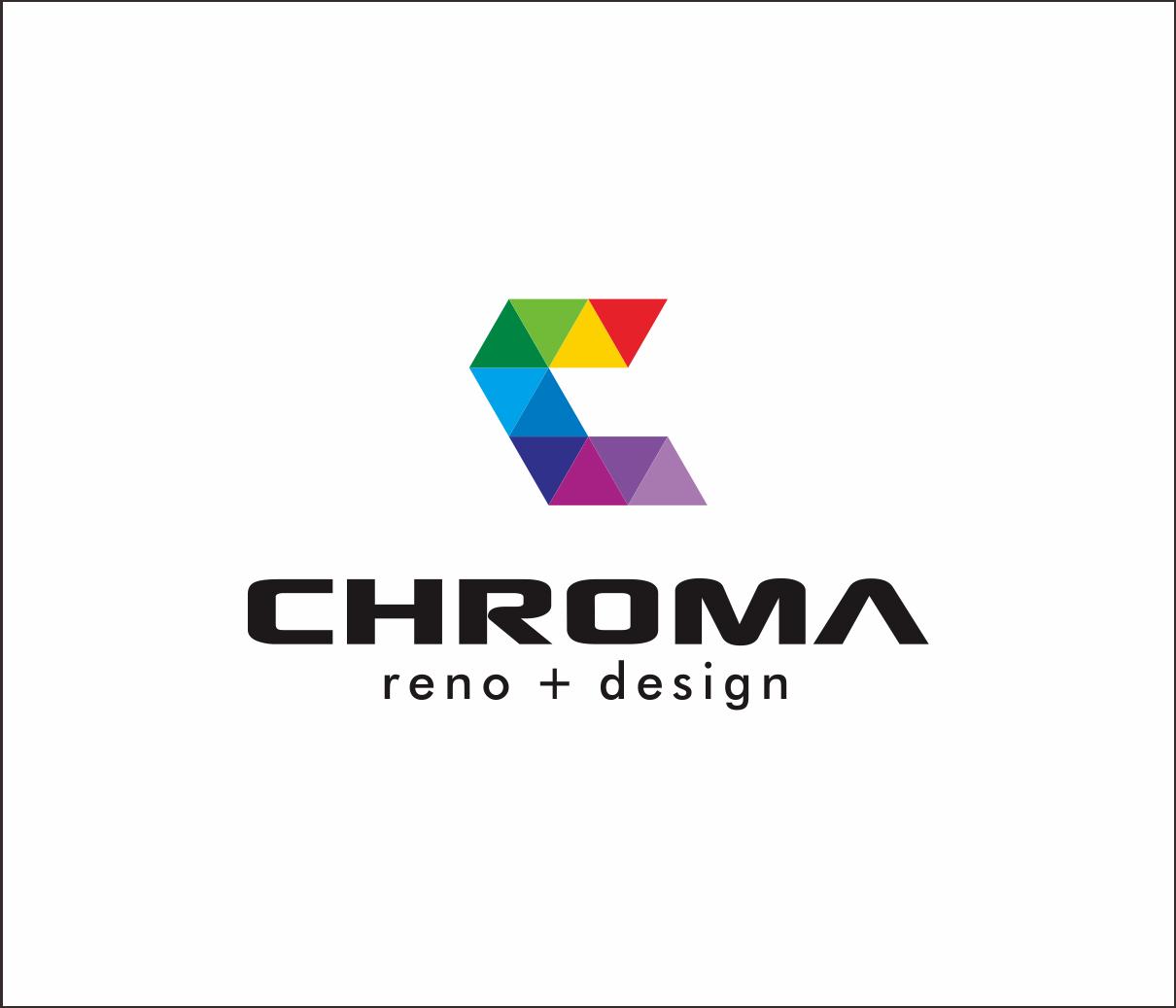 Logo Design by Armada Jamaluddin - Entry No. 100 in the Logo Design Contest Inspiring Logo Design for Chroma Reno+Design.