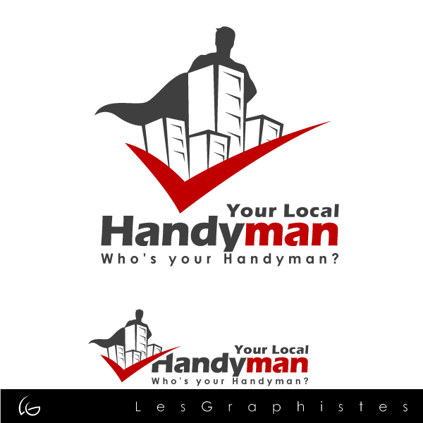 Logo Design by Les-Graphistes - Entry No. 38 in the Logo Design Contest YourLocalHandyman.