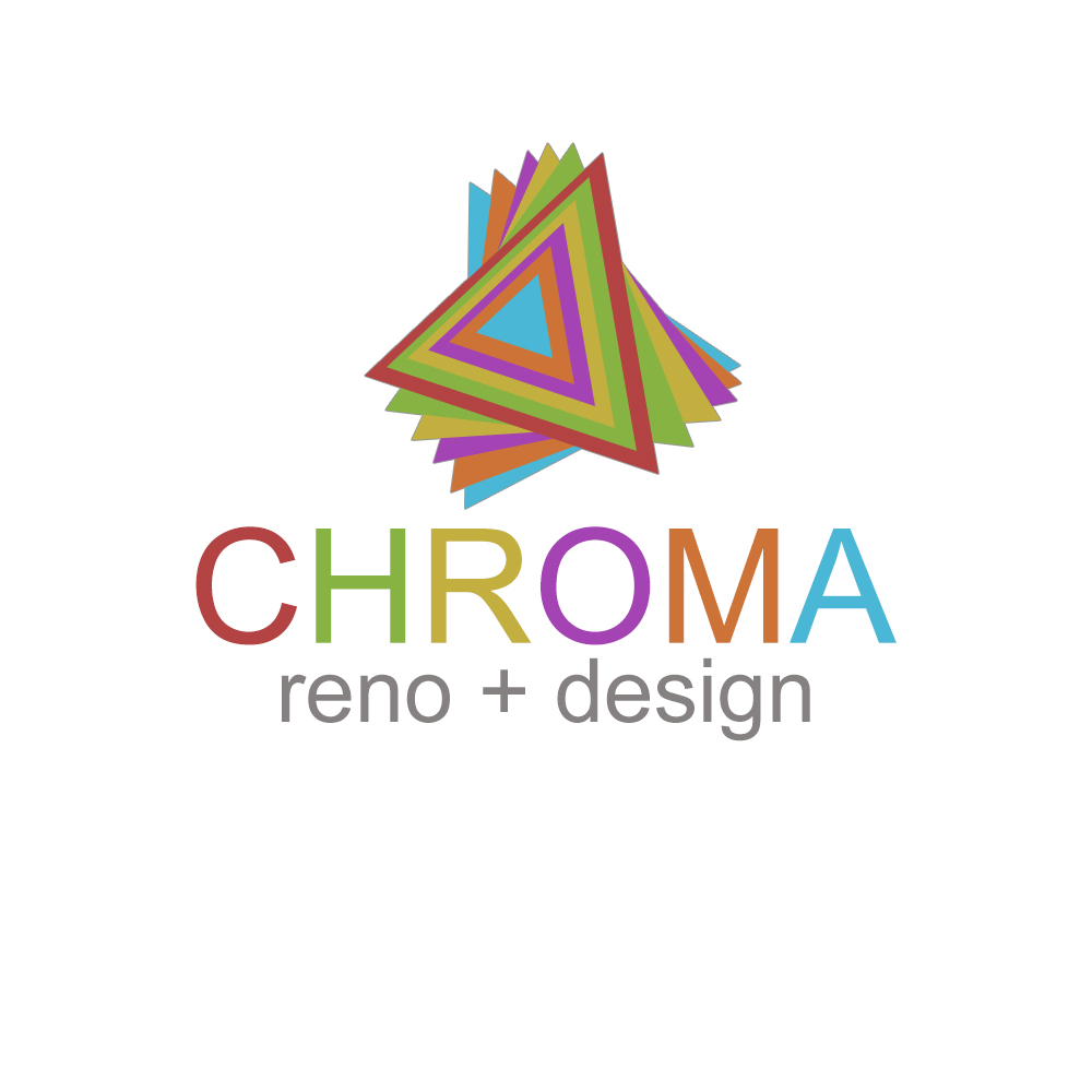 Logo Design by Charlies Pelones - Entry No. 104 in the Logo Design Contest Inspiring Logo Design for Chroma Reno+Design.