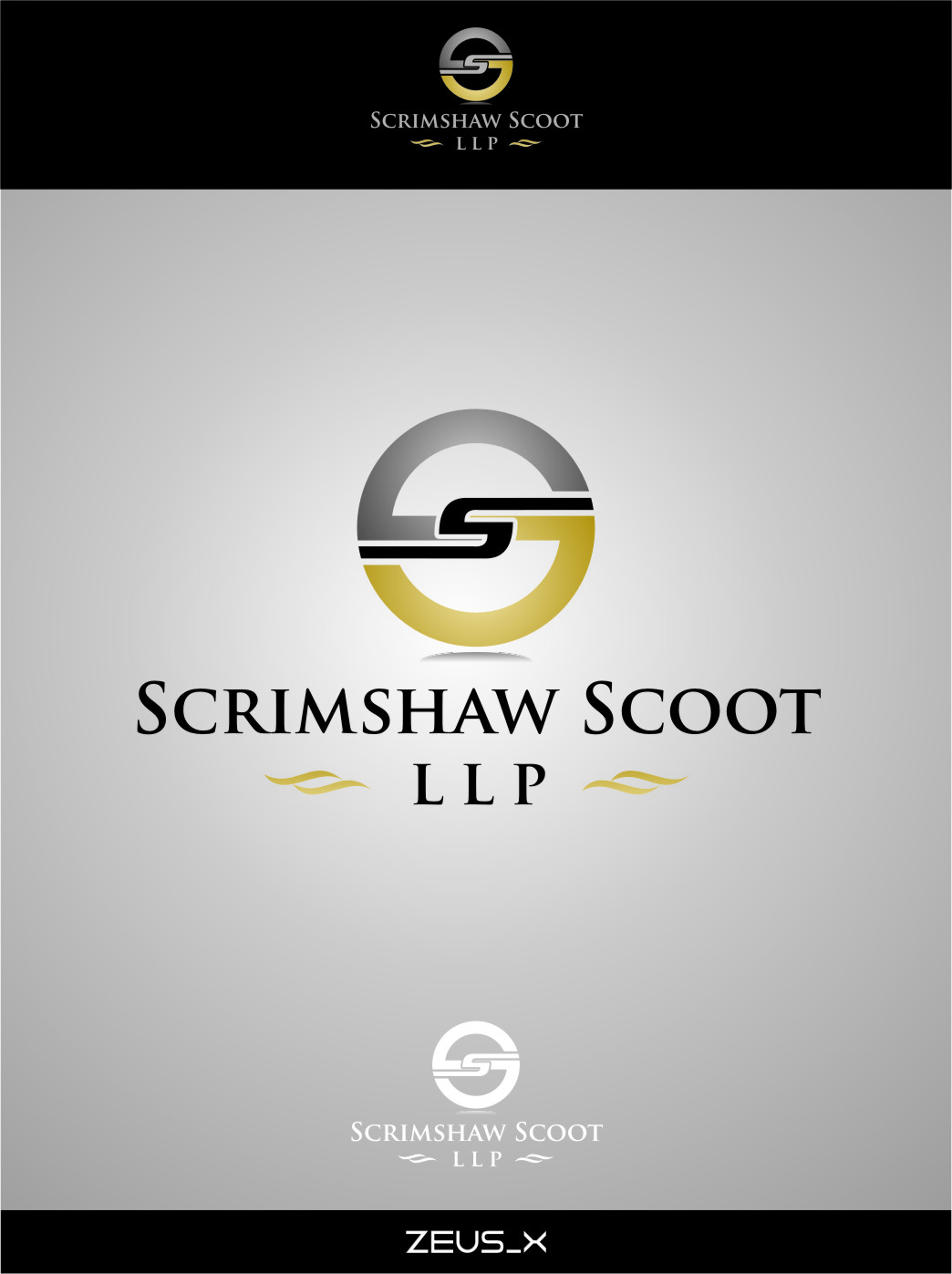 Logo Design by Ngepet_art - Entry No. 85 in the Logo Design Contest Creative Logo Design for Scrimshaw Scott LLP.