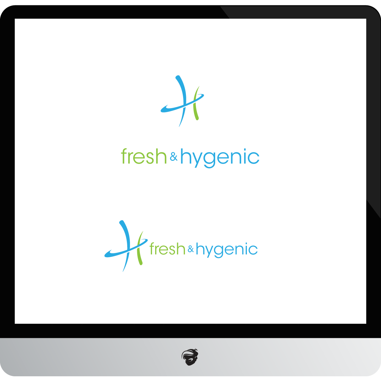 Logo Design by zesthar - Entry No. 5 in the Logo Design Contest Fun Logo Design for Fresh & Hygenic.