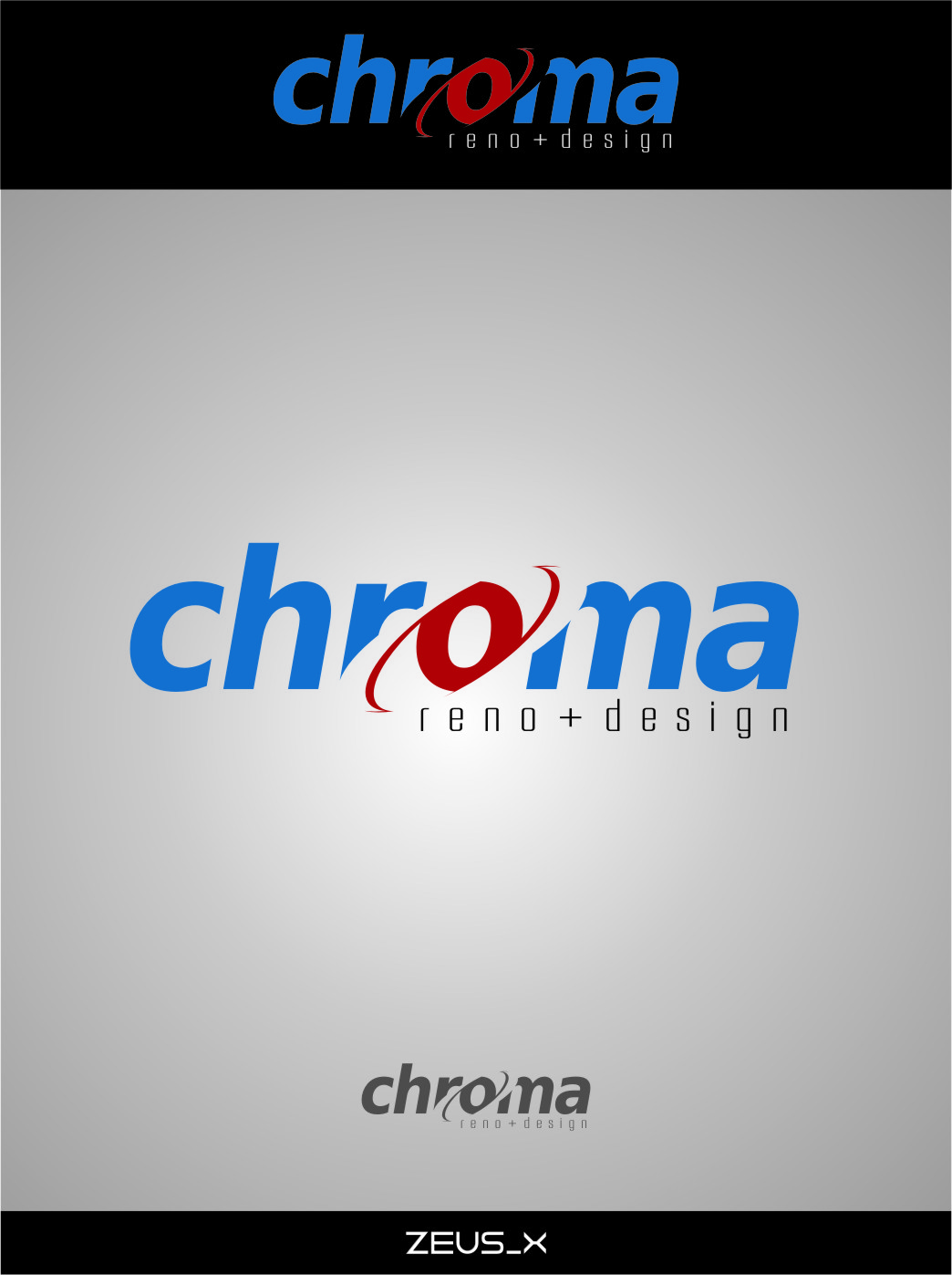 Logo Design by RasYa Muhammad Athaya - Entry No. 111 in the Logo Design Contest Inspiring Logo Design for Chroma Reno+Design.