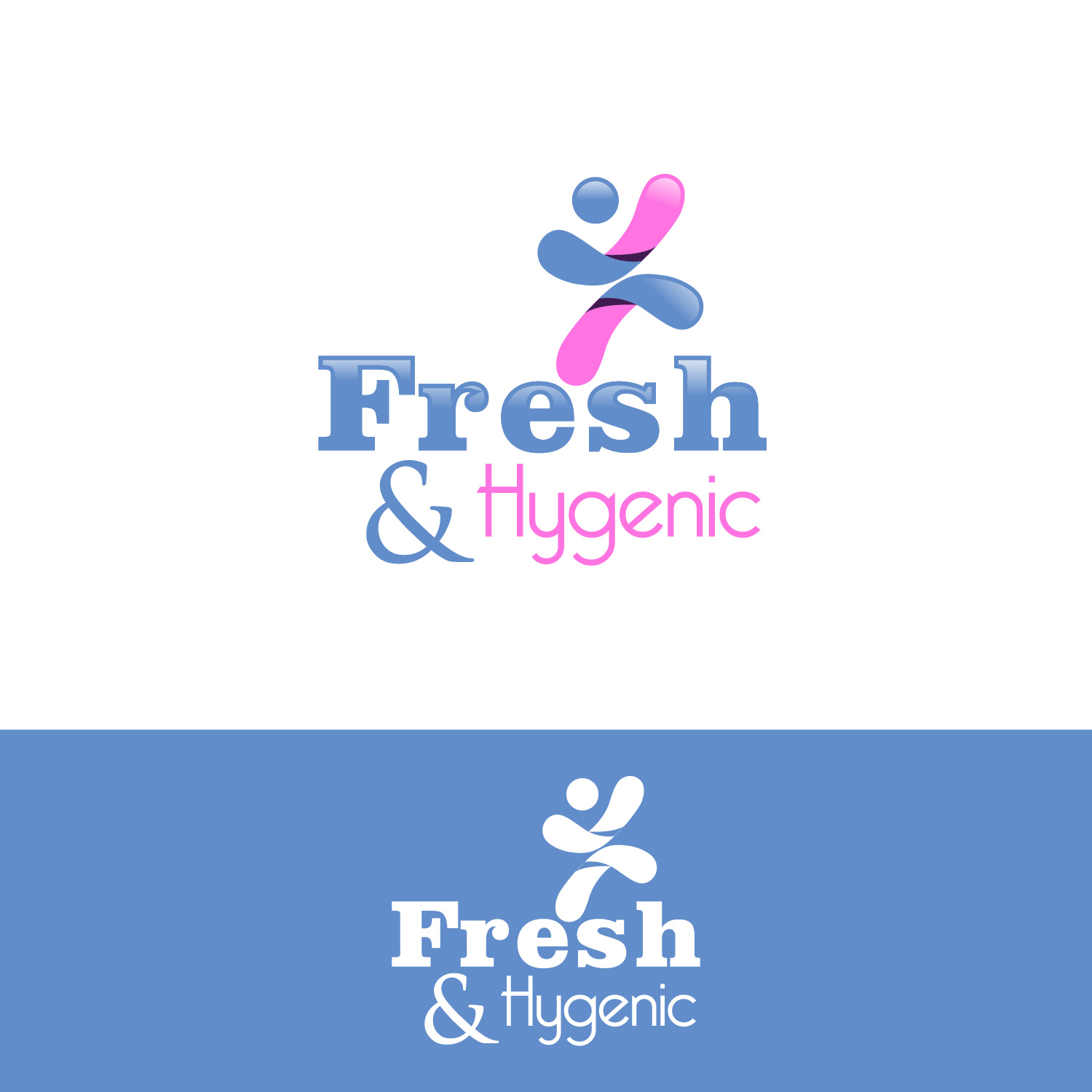 Logo Design by lagalag - Entry No. 9 in the Logo Design Contest Fun Logo Design for Fresh & Hygenic.