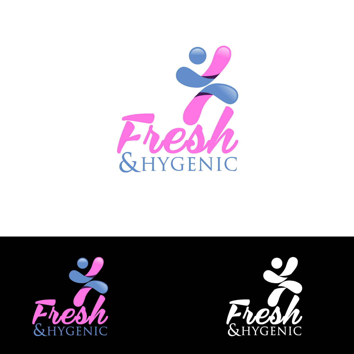 Logo Design by lagalag - Entry No. 10 in the Logo Design Contest Fun Logo Design for Fresh & Hygenic.