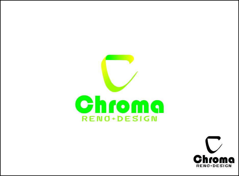 Logo Design by Agus Martoyo - Entry No. 112 in the Logo Design Contest Inspiring Logo Design for Chroma Reno+Design.