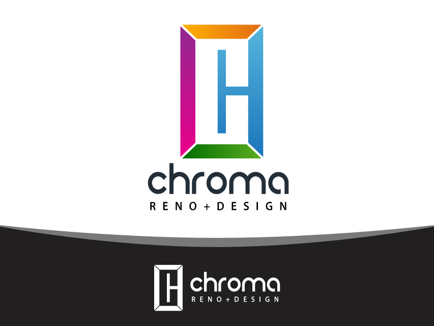 Logo Design by Richard Soriano - Entry No. 115 in the Logo Design Contest Inspiring Logo Design for Chroma Reno+Design.