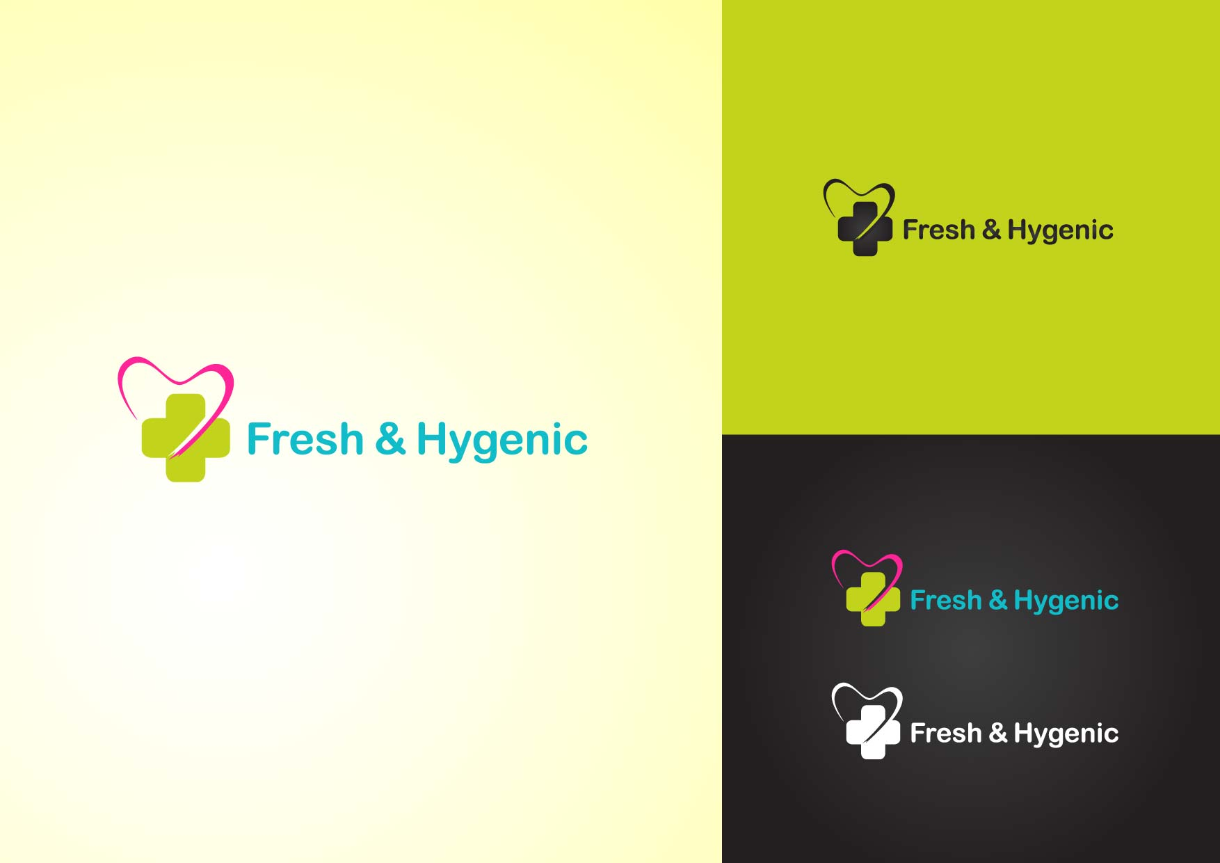 Logo Design by Osi Indra - Entry No. 18 in the Logo Design Contest Fun Logo Design for Fresh & Hygenic.
