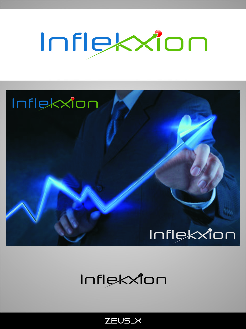 Logo Design by RasYa Muhammad Athaya - Entry No. 98 in the Logo Design Contest Professional Logo Design for Inflekxion.