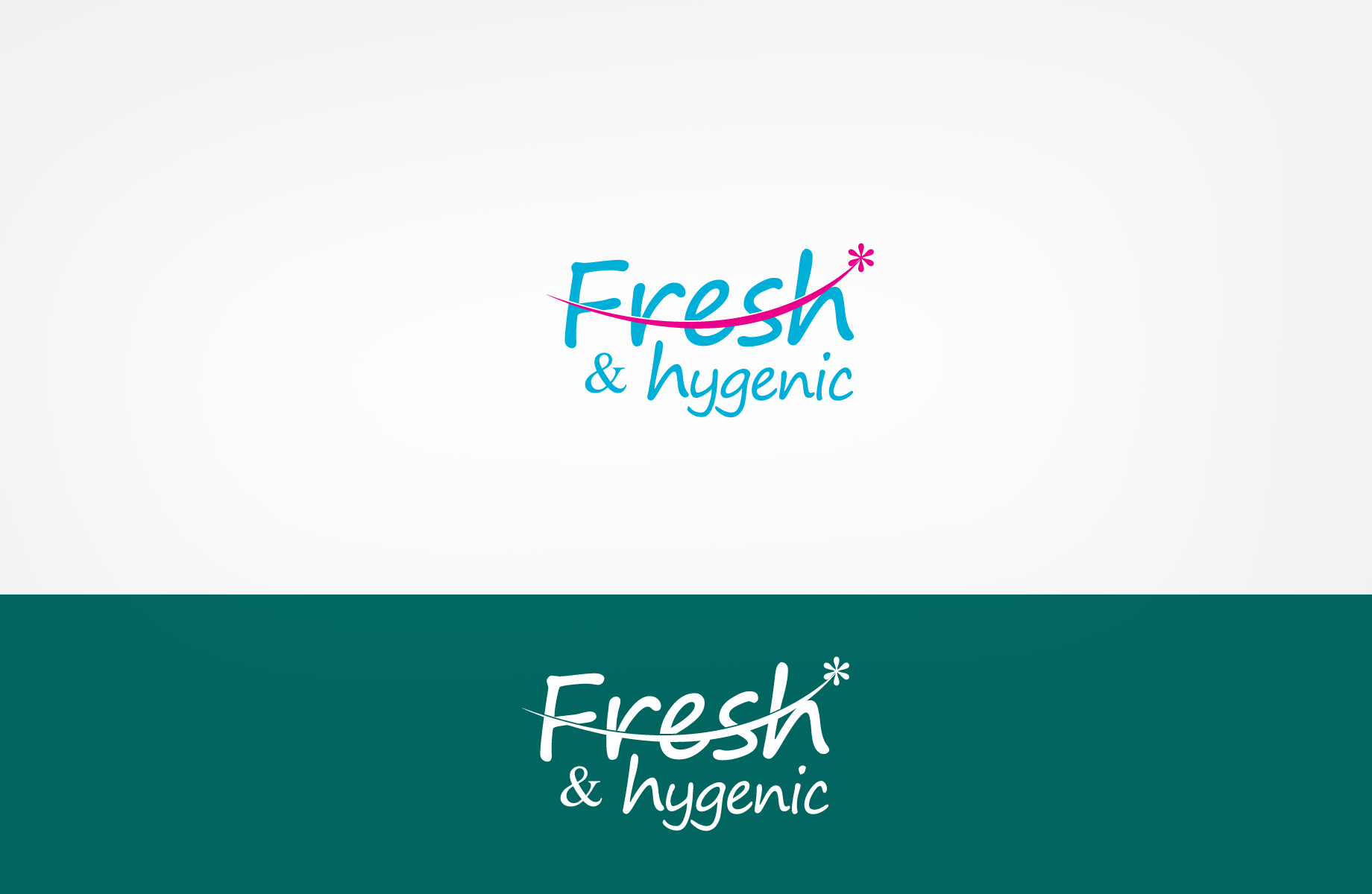 Logo Design by Jan Chua - Entry No. 20 in the Logo Design Contest Fun Logo Design for Fresh & Hygenic.