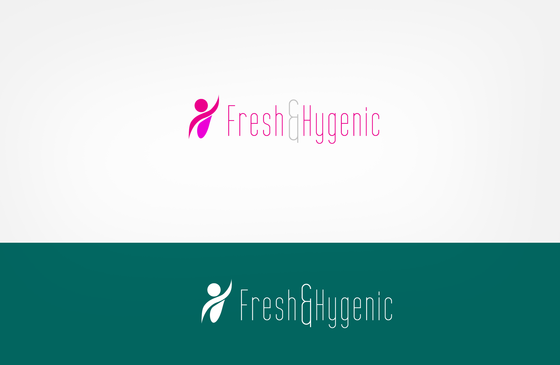 Logo Design by Jan Chua - Entry No. 21 in the Logo Design Contest Fun Logo Design for Fresh & Hygenic.
