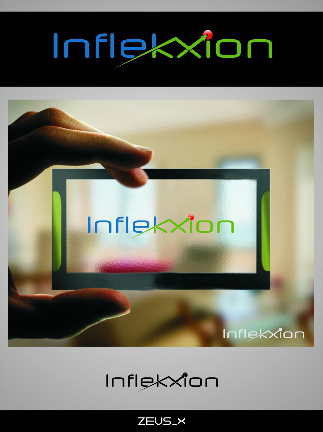 Logo Design by Ngepet_art - Entry No. 102 in the Logo Design Contest Professional Logo Design for Inflekxion.