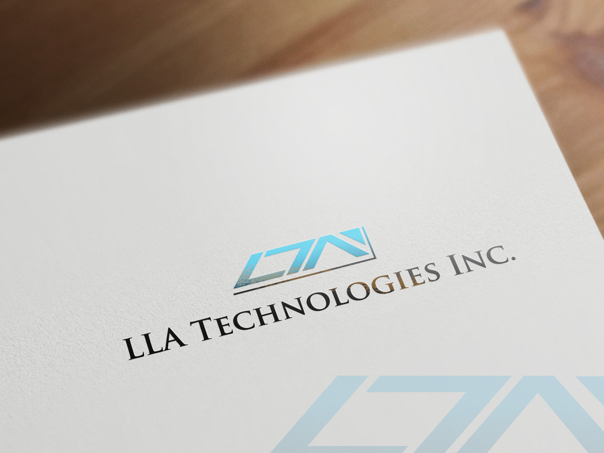 Logo Design by olii - Entry No. 37 in the Logo Design Contest Inspiring Logo Design for LLA Technologies Inc..