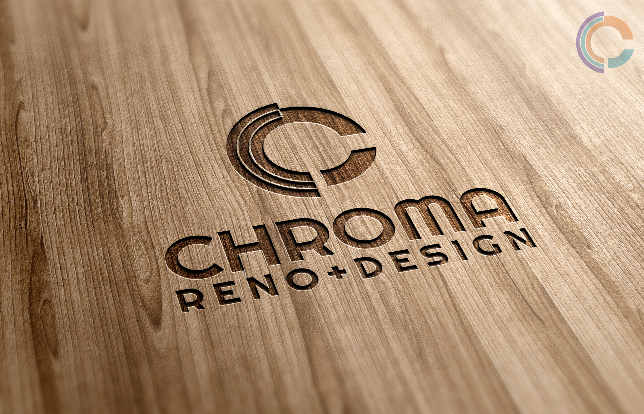Logo Design by olii - Entry No. 120 in the Logo Design Contest Inspiring Logo Design for Chroma Reno+Design.