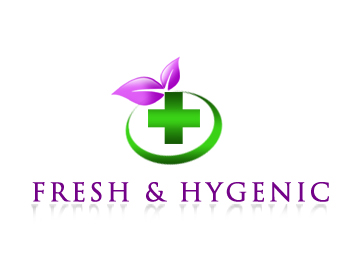 Logo Design by Crystal Desizns - Entry No. 22 in the Logo Design Contest Fun Logo Design for Fresh & Hygenic.