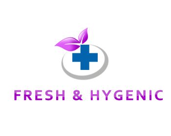 Logo Design by Crystal Desizns - Entry No. 23 in the Logo Design Contest Fun Logo Design for Fresh & Hygenic.