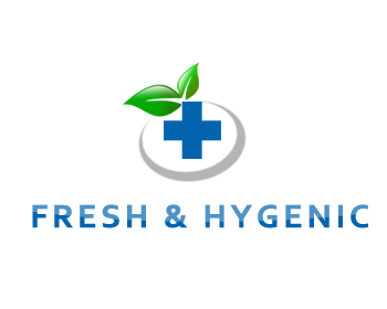 Logo Design by Crystal Desizns - Entry No. 24 in the Logo Design Contest Fun Logo Design for Fresh & Hygenic.