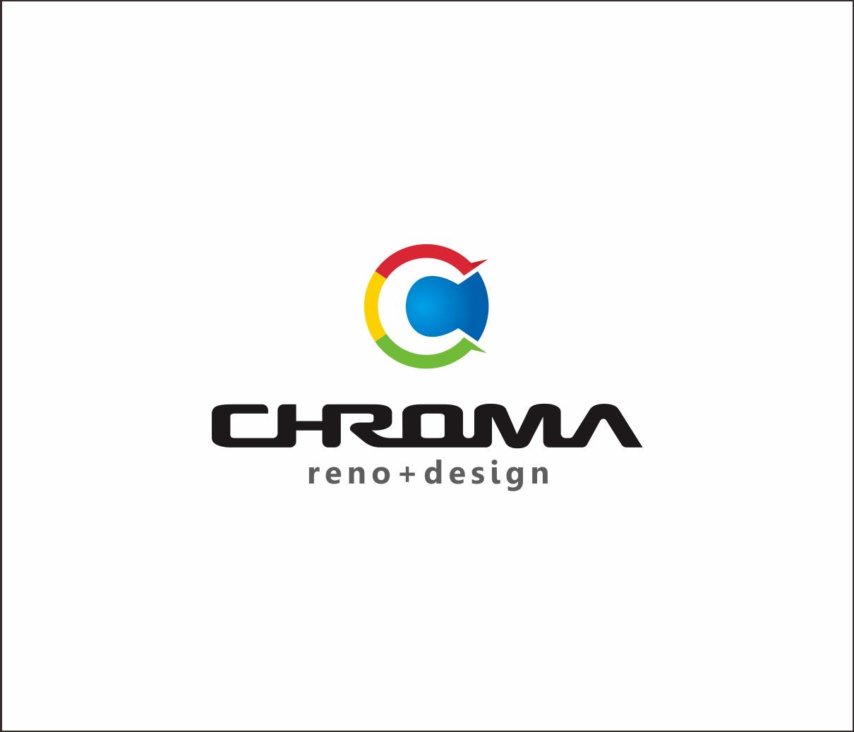 Logo Design by Armada Jamaluddin - Entry No. 122 in the Logo Design Contest Inspiring Logo Design for Chroma Reno+Design.