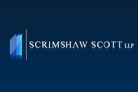 Logo Design by Crystal Desizns - Entry No. 89 in the Logo Design Contest Creative Logo Design for Scrimshaw Scott LLP.