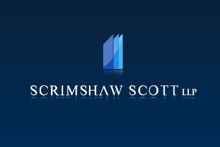Logo Design by Crystal Desizns - Entry No. 90 in the Logo Design Contest Creative Logo Design for Scrimshaw Scott LLP.