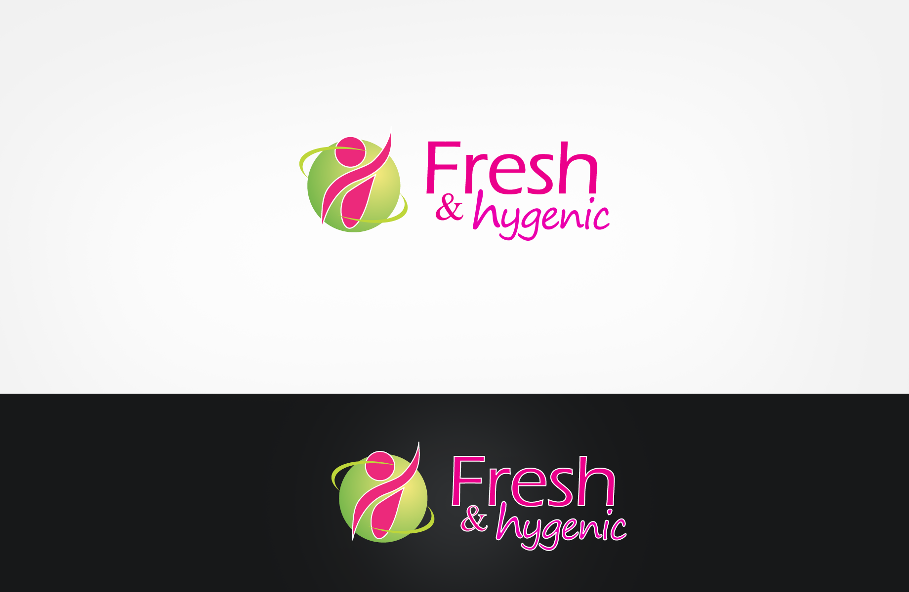 Logo Design by Jan Chua - Entry No. 28 in the Logo Design Contest Fun Logo Design for Fresh & Hygenic.