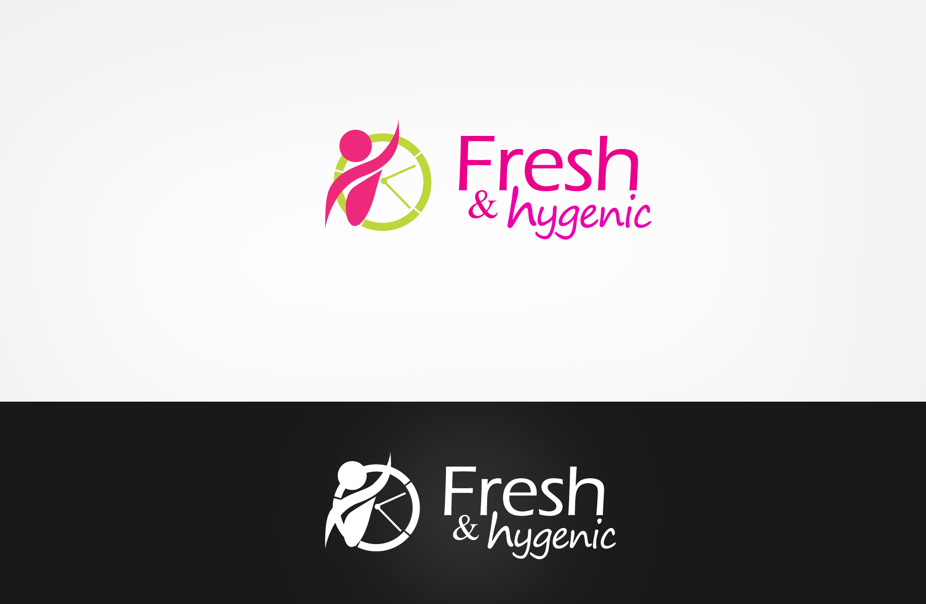 Logo Design by Jan Chua - Entry No. 29 in the Logo Design Contest Fun Logo Design for Fresh & Hygenic.