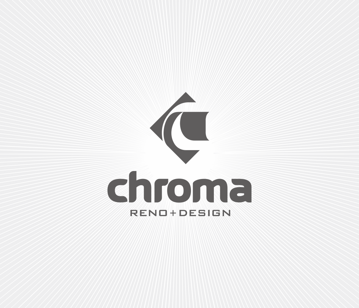 Logo Design by Armada Jamaluddin - Entry No. 126 in the Logo Design Contest Inspiring Logo Design for Chroma Reno+Design.