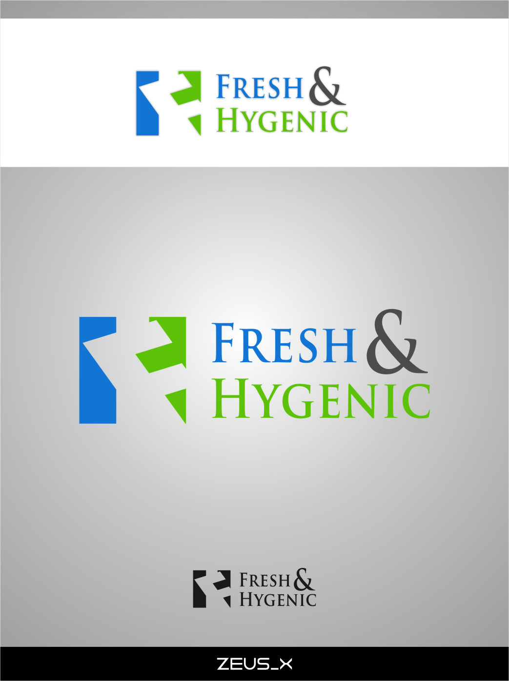 Logo Design by Ngepet_art - Entry No. 30 in the Logo Design Contest Fun Logo Design for Fresh & Hygenic.