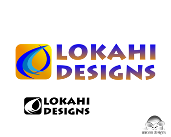 Logo Design by Private User - Entry No. 63 in the Logo Design Contest Unique Logo Design Wanted for LOKAHI DESIGNS.