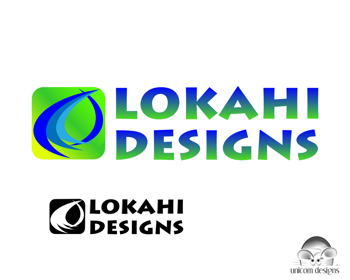 Logo Design by Private User - Entry No. 64 in the Logo Design Contest Unique Logo Design Wanted for LOKAHI DESIGNS.
